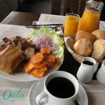 Desayuno regional en QALA Hotels & Resorts