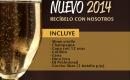Cena y Fiesta de Año Nuevo 2014 fuera de Lima
