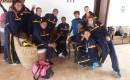 Selección de Voley de República Dominicana y Colombia en Qala