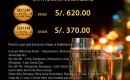 Cena y Fiesta de Año Nuevo 2015 fuera de Lima