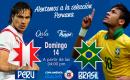 Domingo 14 de Junio disfruta de La Copa América 2015 – Perú vs Brasil